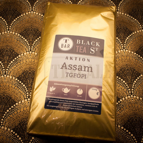 Assam Aktionstee 1 kg-Packg.