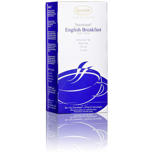Ronnefeldt English Breakfast Tea Teavelope 25 Beutel
